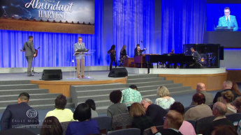 2019 Miracles on the Mountain: The Name of Jesus is Above Every Other Name (10 a.m.)