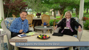 Fear Opens the Door to the Devil