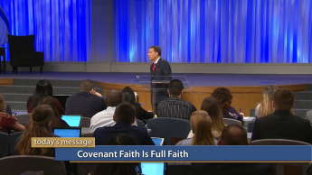 Covenant Faith Is Full Faith