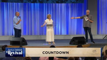 Faith for Freedom Revival: Thursday Evening Countdown (6:30 p.m. CT)