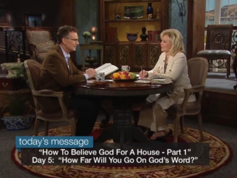 Day 5--How Far Will You Go on God's Word?