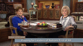 Praying for Leaders of Nations First of All