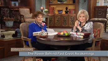 The Power Behind Past Great Awakenings