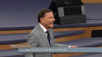 Be Healed and Made Whole