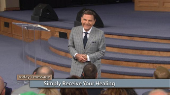 Simply Receive Your Healing