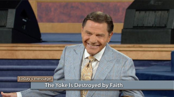 The Yoke Is Destroyed by Faith