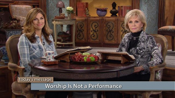 Worship Is Not a Performance
