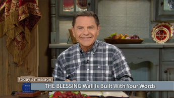 THE BLESSING Wall Is Built With Your Words