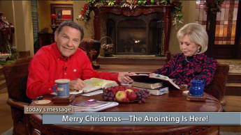 Merry Christmas—The Anointing Is Here!