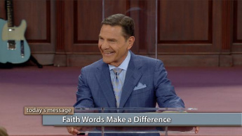 Faith Words Make a Difference