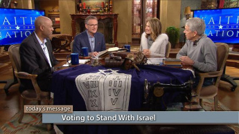 Voting to Stand With Israel