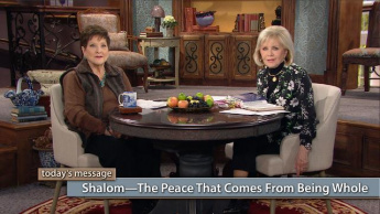 Shalom—The Peace That Comes From Being Whole
