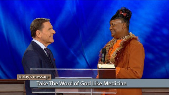 Take The WORD of God Like Medicine