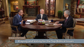 Praying and Voting for the Top Biblical Issues