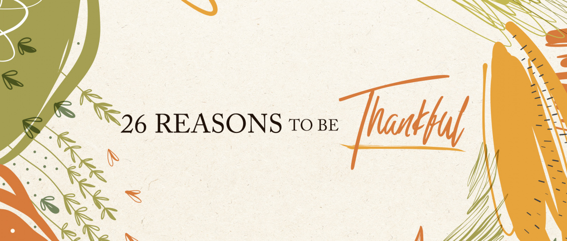 No matter what is going on, there is ALWAYS something to the thankful for!