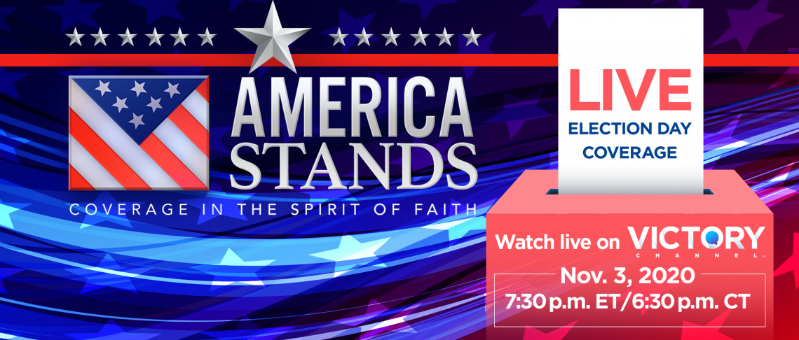 Watch LIVE Election Coverage in the Spirit of Faith