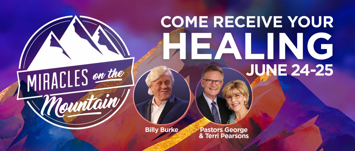 Come Receive Your Healing!